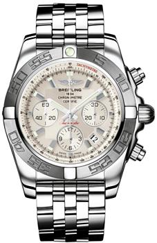 Швейцарские наручные  мужские часы Breitling AB011011-G684-375A
