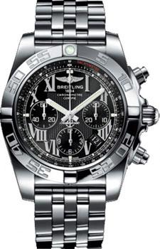 Швейцарские наручные  мужские часы Breitling AB011012-B956-375A