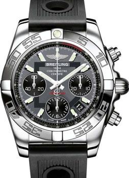Швейцарские наручные  мужские часы Breitling AB014012-F554-202S
