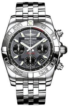 Швейцарские наручные  мужские часы Breitling AB014012-F554-378A