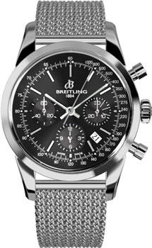 Швейцарские наручные  мужские часы Breitling AB015212-BA99-154A