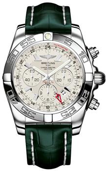 Швейцарские наручные  мужские часы Breitling AB041012-G719-752P