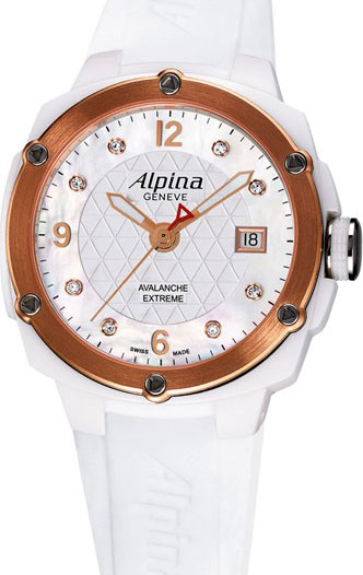Женские наручные швейцарские часы в коллекции Extreme Alpina