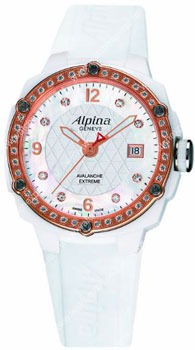 Швейцарские наручные  женские часы Alpina AL-240MPWD3AEDC4. Коллекция Extreme
