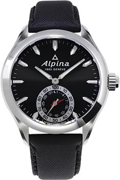 Швейцарские наручные  мужские часы Alpina AL-285BS5AQ6. Коллекция Horological Smartwatch