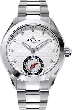Швейцарские наручные  женские часы Alpina AL-285STD3C6B. Коллекция Horological Smartwatch