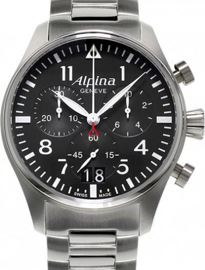 Мужские наручные швейцарские часы в коллекции Aviation Alpina