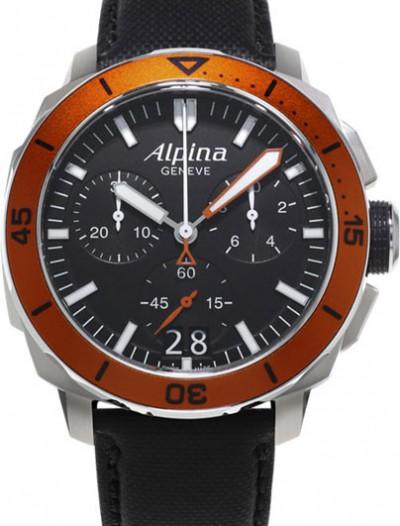 Мужские наручные швейцарские часы в коллекции Seastrong Alpina