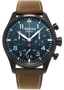Швейцарские наручные  мужские часы Alpina AL-372N4FBS6. Коллекция Aviation
