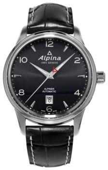 Швейцарские наручные  мужские часы Alpina AL-525B4E6. Коллекция Aviation