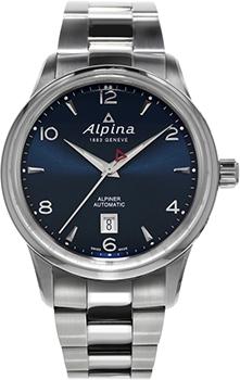Швейцарские наручные  мужские часы Alpina AL-525N4E6B. Коллекция Alpiner