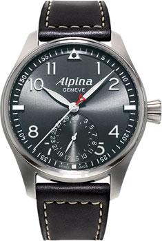 Швейцарские наручные  мужские часы Alpina AL-710G4S6. Коллекция Aviation