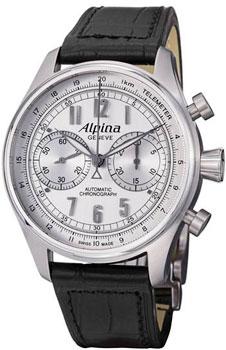 Швейцарские наручные  мужские часы Alpina AL-860SCP4S6. Коллекция Aviation