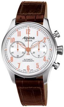 Швейцарские наручные  мужские часы Alpina AL-860SCR4S6. Коллекция Aviation