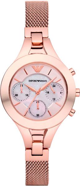 Женские наручные fashion часы в коллекции Classics Emporio Armani