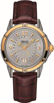 Швейцарские наручные  мужские часы Auguste Reymond AR7550.9.742.8. Коллекция Magellan GMT