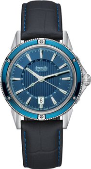 Швейцарские наручные  мужские часы Auguste Reymond AR7556.8.610.5. Коллекция Magellan GMT