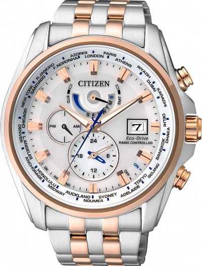 Мужские японские наручные часы в коллекции Radio-Controlled Citizen