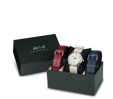 fashion наручные  мужские часы AVI-8 AV-4029-01. Коллекция Flyboy
