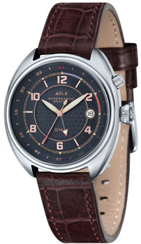 fashion наручные  мужские часы AVI-8 AV-4030-03. Коллекция Supermarine Seafire