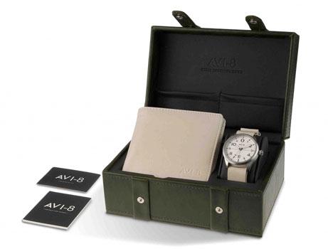 fashion наручные  мужские часы AVI-8 AV-SET2-02. Коллекция Flyboy
