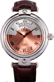Швейцарские наручные  мужские часы Buran B24_126_1_601_0. Коллекция Admiral