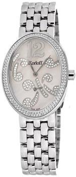 Швейцарские наручные  женские часы Korloff B2DBR.2508