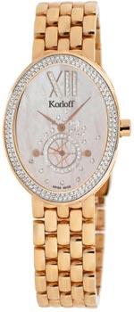Швейцарские наручные  женские часы Korloff B2SDIPRBR