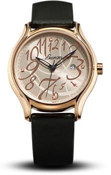 Швейцарские наручные  женские часы Buran B38_228_9_124_0. Коллекция Ladies