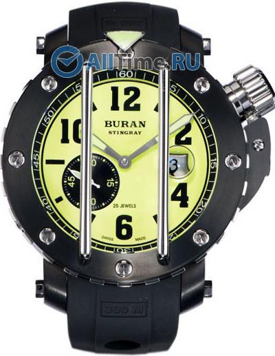 Мужские наручные швейцарские часы в коллекции Stingray Buran