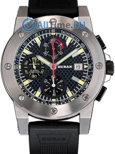 Мужские наручные швейцарские часы в коллекции Sport Buran