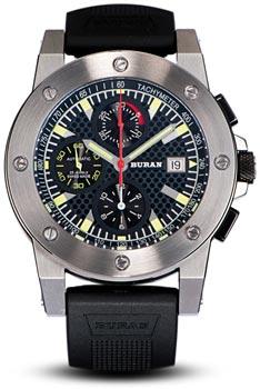 Швейцарские наручные  мужские часы Buran B50_111_1_524_2. Коллекция Sport
