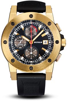 Швейцарские наручные  мужские часы Buran B50_111_6_572_2. Коллекция Sport