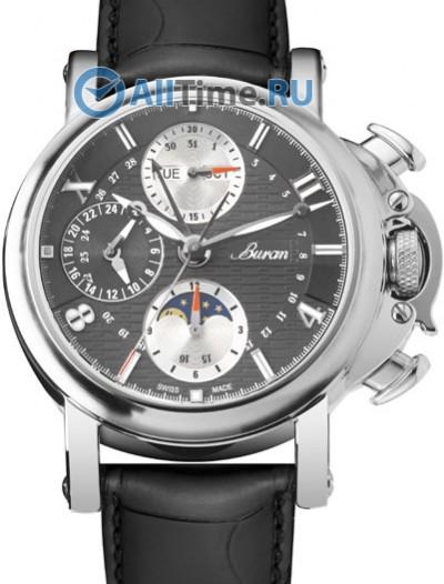 Мужские наручные швейцарские часы в коллекции Flagman Buran