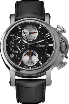 Швейцарские наручные  мужские часы Buran B51_442_1_448_4. Коллекция Flagman