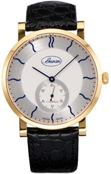 Швейцарские наручные  мужские часы Buran B70_143_6_642_0. Коллекция Slim