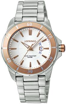 Японские наручные  женские часы J. Springs BBE053. Коллекция Ladies