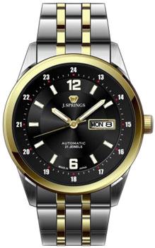 Японские наручные  мужские часы J. Springs BEB598S. Коллекция Automatic