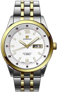 Японские наручные  мужские часы J. Springs BEB599S. Коллекция Automatic