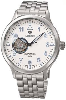 Японские наручные  мужские часы J. Springs BEF002. Коллекция Semi-skelton Automatic