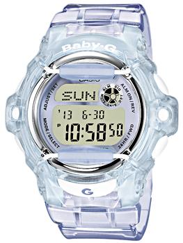 Японские наручные  женские часы Casio BG-169R-6E. Коллекция Baby-G