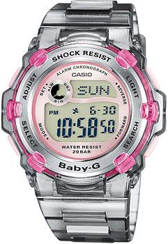 Японские наручные  женские часы Casio BG-3000-8E. Коллекция Baby-G