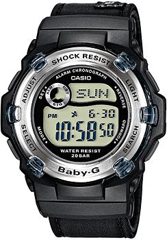 Японские наручные  женские часы Casio BG-3002V-1. Коллекция Baby-G