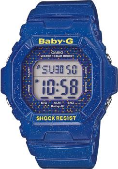Японские наручные  женские часы Casio BG-5600GL-2E. Коллекция Baby-G