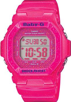 Японские наручные  женские часы Casio BG-5600GL-4E. Коллекция Baby-G