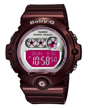 Японские наручные  женские часы Casio BG-6900-4E. Коллекция Baby-G