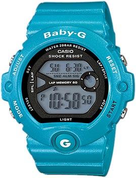 Японские наручные  женские часы Casio BG-6903-2E. Коллекция Baby-G