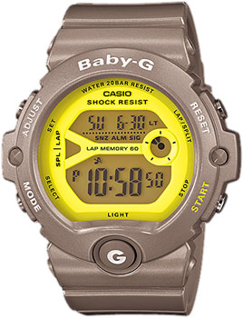 Японские наручные  женские часы Casio BG-6903-8E. Коллекция Baby-G