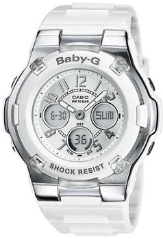 Японские наручные  женские часы Casio BGA-110-7B. Коллекция Baby-G