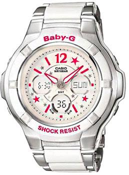 Японские наручные  женские часы Casio BGA-120C-7B2. Коллекция Baby-G